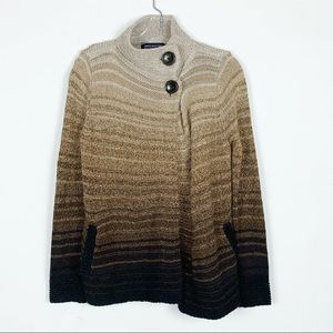 Jones New York ombre knit Sweater/Cardigan